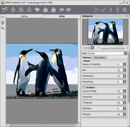 AKVIS ArtWork 9: Photoshop Plug-in Review